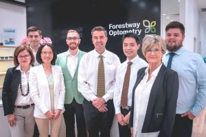 Forestway Optometry Team Photo