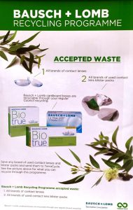 Contact Lense Recycling Programme